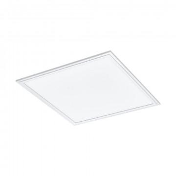 Светодиодная панель для встраиваемого или накладного монтажа с пультом ДУ Eglo Connect Salobrena-C 97629, LED 21W 2700-6500K + RGB 2500lm CRI>80, белый, металл с пластиком, пластик