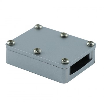 Соединитель для гибкого токопровода Arte Lamp Instyle A151027, серебро, пластик, металл