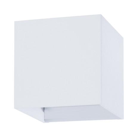 Настенный светодиодный светильник Arte Lamp Instyle Rullo A1414AL-1WH, IP54, LED 6W, 3000K (теплый), белый, металл