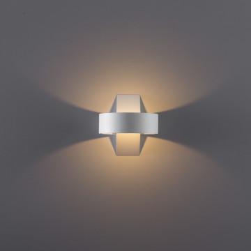 Настенный светодиодный светильник Arte Lamp Instyle Anello A1705AP-1WH, LED 5W 3000K 350lm CRI≥80, белый, металл