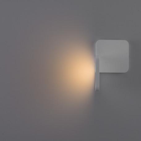 Настенный светодиодный светильник Arte Lamp Instyle Virata A1807AP-1WH, LED 7W 3000K 490lm CRI≥80, белый, металл