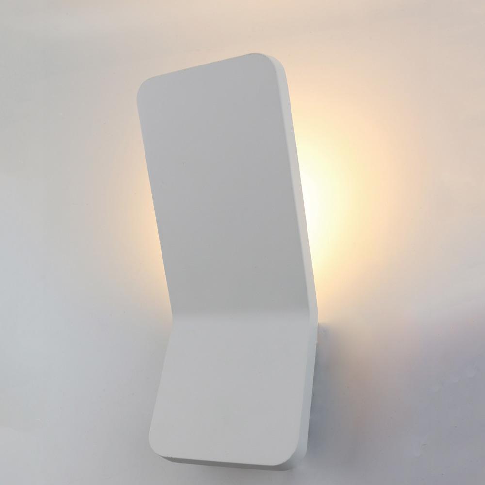 Настенный светодиодный светильник Arte Lamp Instyle Scorcio A8053AL-1WH, LED 6W 3000K 420lm CRI≥80, белый, металл - фото 1