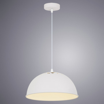 Подвесной светильник Arte Lamp Buratto A8173SP-1WH, 1xE27x60W, белый, металл