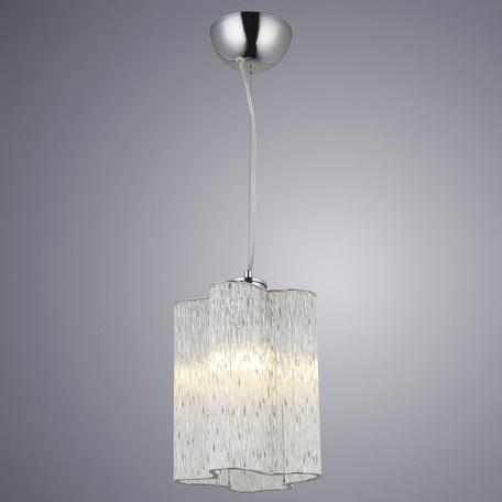 Подвесной светильник Arte Lamp Diletto A8561SP-1CL, 1xE14x40W, хром, прозрачный, металл, стекло