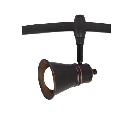 Светильник с регулировкой направления света для гибкой системы Arte Lamp Instyle Rails Heads A3057PL-1BK, 1xE14x40W, черный, металл