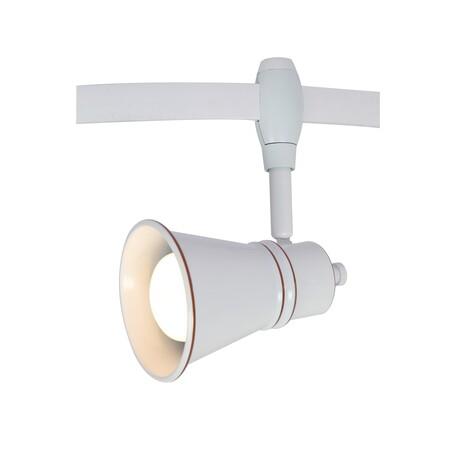 Светильник с регулировкой направления света для гибкой системы Arte Lamp Instyle Rails Heads A3057PL-1WH, 1xE14x40W, белый, металл
