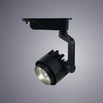Светодиодный светильник для шинной системы Arte Lamp Instyle Vigile A1610PL-1BK, LED 10W, 4000K (дневной), черный, металл