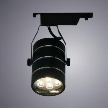 Светильник для шинной системы Arte Lamp Instyle Cinto A2707PL-1BK 4000K (дневной), черный, металл