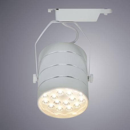 Светодиодный светильник с регулировкой направления света для шинной системы Arte Lamp Instyle Cinto A2718PL-1WH, LED 18W 4000K 1260lm CRI≥70, белый, металл