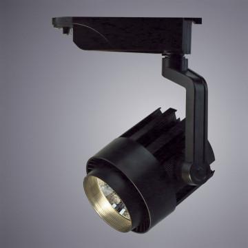 Светодиодный светильник с регулировкой направления света для шинной системы Arte Lamp Instyle Vigile A1630PL-1BK, LED 30W 4000K 2400lm CRI≥80, черный, металл