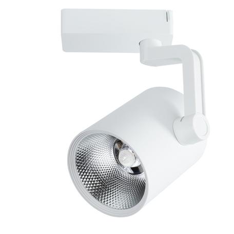 Светодиодный светильник с регулировкой направления света для шинной системы Arte Lamp Instyle Traccia A2330PL-1WH, LED 30W 4000K 2400lm CRI≥80, белый, металл