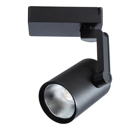 Светодиодный светильник с регулировкой направления света для шинной системы Arte Lamp Instyle Traccia A2320PL-1BK, LED 20W 4000K 1600lm CRI≥80, черный, металл