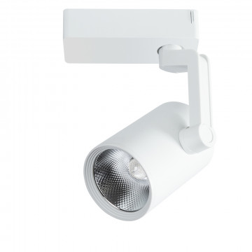 Светодиодный светильник с регулировкой направления света для шинной системы Arte Lamp Instyle Traccia A2320PL-1WH, LED 20W 4000K 1600lm CRI≥80, белый, металл