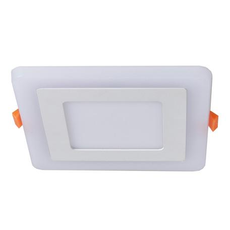 Встраиваемая светодиодная панель Arte Lamp Instyle Vega A7506PL-2WH, белый, металл, пластик