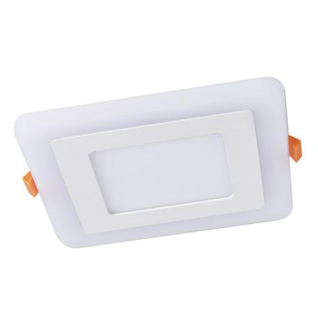 Встраиваемая светодиодная панель Arte Lamp Instyle Vega A7509PL-2WH, белый, металл, пластик