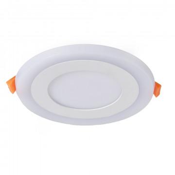 Встраиваемая светодиодная панель Arte Lamp Instyle Rigel A7606PL-2WH, белый, металл, пластик
