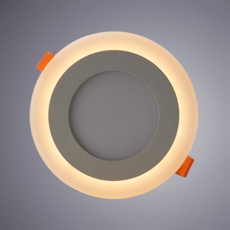 Встраиваемая светодиодная панель Arte Lamp Instyle Rigel A7609PL-2WH, белый, металл, пластик - миниатюра 1