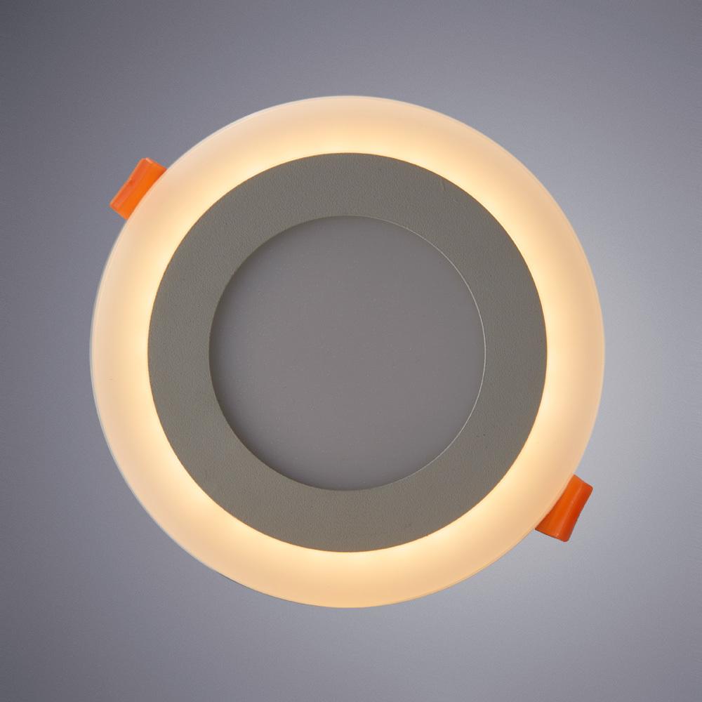 Встраиваемая светодиодная панель Arte Lamp Instyle Rigel A7609PL-2WH, белый, металл, пластик - фото 1