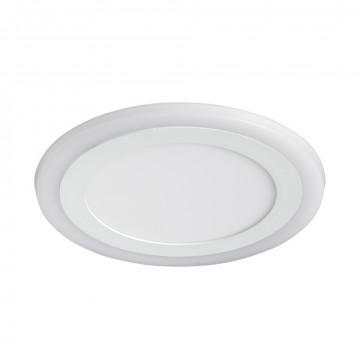 Встраиваемая светодиодная панель Arte Lamp Instyle Rigel A7616PL-2WH, LED 16W 3000K + 4000K 840280lm CRI≥70, белый, металл с пластиком, пластик