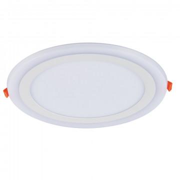 Встраиваемая светодиодная панель Arte Lamp Instyle Rigel A7624PL-2WH, LED 24W 3000K + 4000K 1260420lm CRI≥70, белый, металл с пластиком, пластик