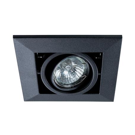 Встраиваемый светильник Arte Lamp Instyle Cardani Piccolo A5941PL-1BK, 1xGU10x50W, черный, металл