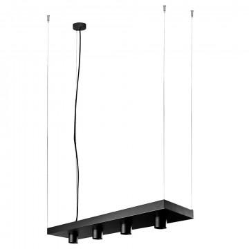 Подвесной светильник Nowodvorski Plant 9381, черный, металл