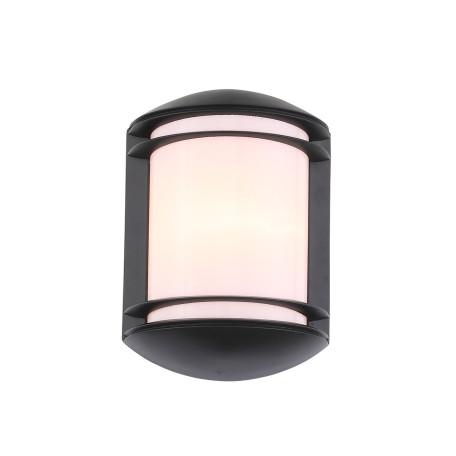 Настенный светильник ST Luce Agio SL076.401.01, IP54, 1xE27x60W, черный, черно-белый, металл с пластиком