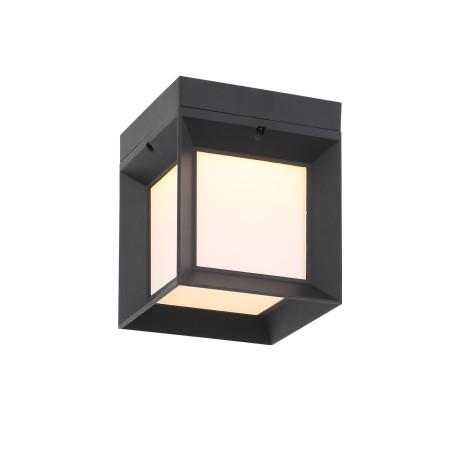 Потолочный светодиодный светильник ST Luce Cubista SL077.401.01, IP54, LED 9W 3000K, черный, черно-белый, металл с пластиком
