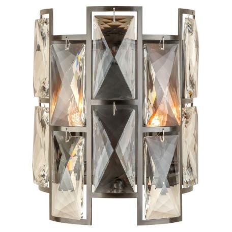 Бра L'Arte Luce Luxury Delio L34522, 2xE14x40W, металл, хрусталь