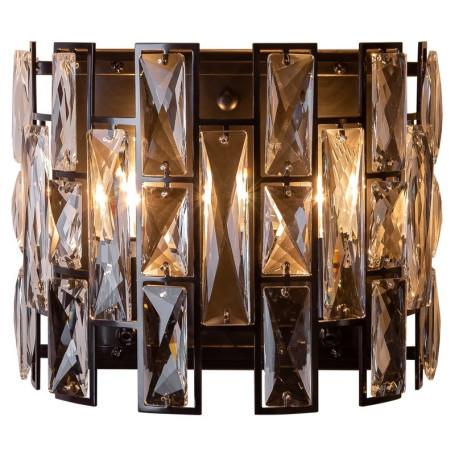 Бра L'Arte Luce Luxury Mincho L34722, 2xE14x40W, металл, хрусталь
