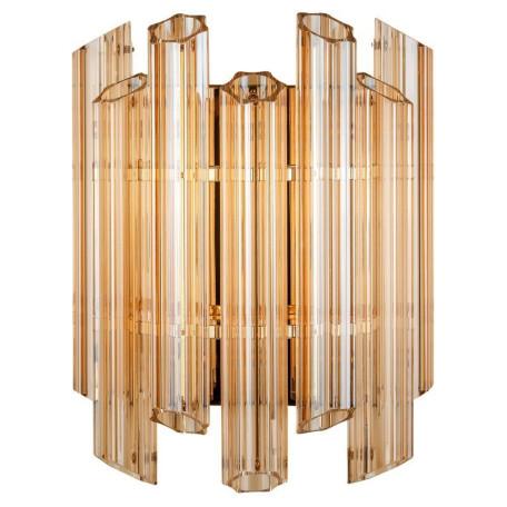 Настенный светильник L'Arte Luce Luxury Retro Murano L34824, 4xE14x40W, металл, стекло