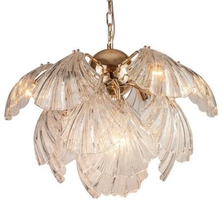 Подвесная люстра L'Arte Luce Luxury Spaggio L35510, 10xE14x40W, металл, стекло