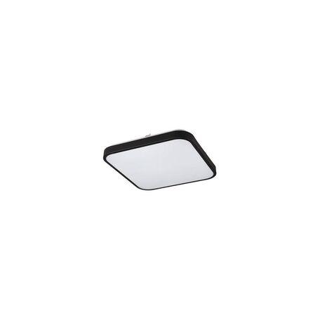 Потолочный светодиодный светильник Nowodvorski Agnes Square 9167, LED 16W 4000K 1500lm CRI80, белый, черный, металл, пластик