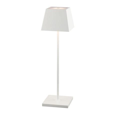 Садовый светодиодный светильник Nowodvorski Mahe LED 8397, IP54, LED 2,2W 3000K 168lm, белый, металл