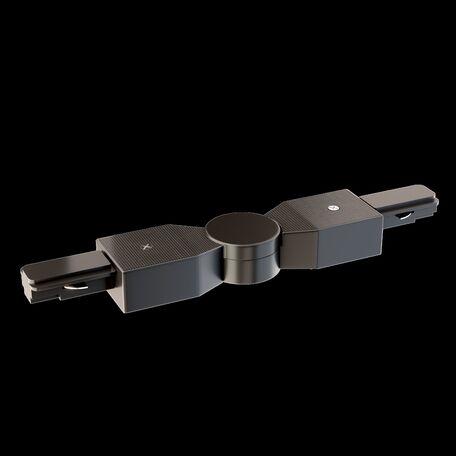 Поворотный соединитель для шинопровода Maytoni Аксессуары к однофазной шинной системе Busbar Trunkings TRA001CS-11B