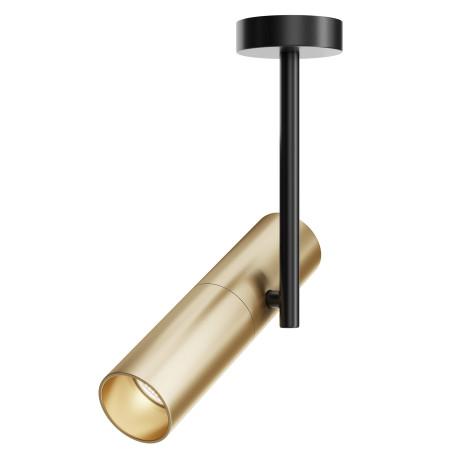 Светильник Maytoni Elti C020CL-01GB, 1xGU10x50W, черный, золото, металл