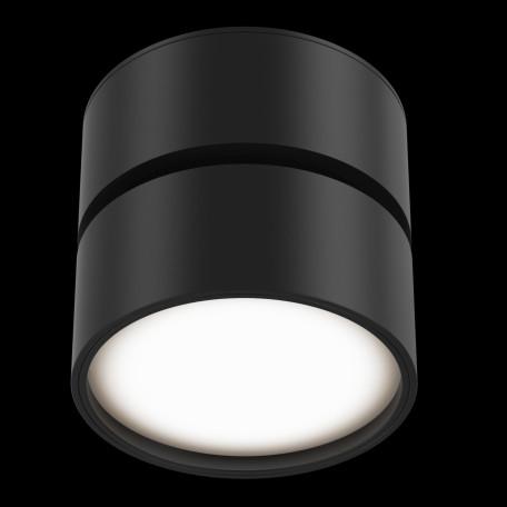 Светодиодный светильник Maytoni Onda C024CL-L12B3K, LED 12W 3000K 700lm CRI80, черный, металл, металл с пластиком - миниатюра 3