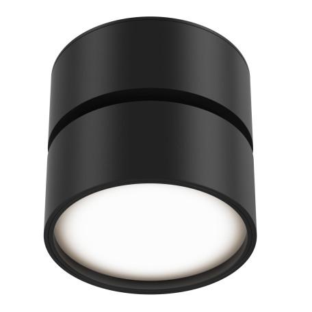 Светодиодный светильник Maytoni Onda C024CL-L12B3K, LED 12W 3000K 700lm CRI80, черный, металл, металл с пластиком - миниатюра 4
