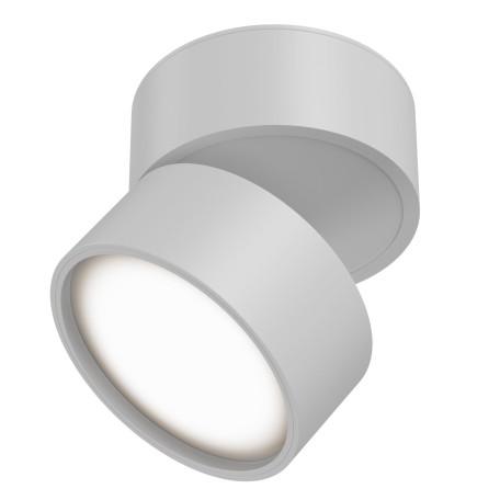 Светодиодный светильник Maytoni Onda C024CL-L12W3K, LED 12W 3000K 900lm CRI80, белый, металл, металл с пластиком