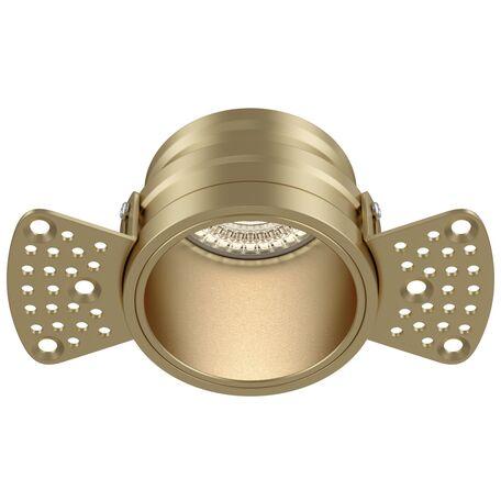 Светильник Maytoni Reif DL048-01MG, 1xGU10x50W, золото, металл