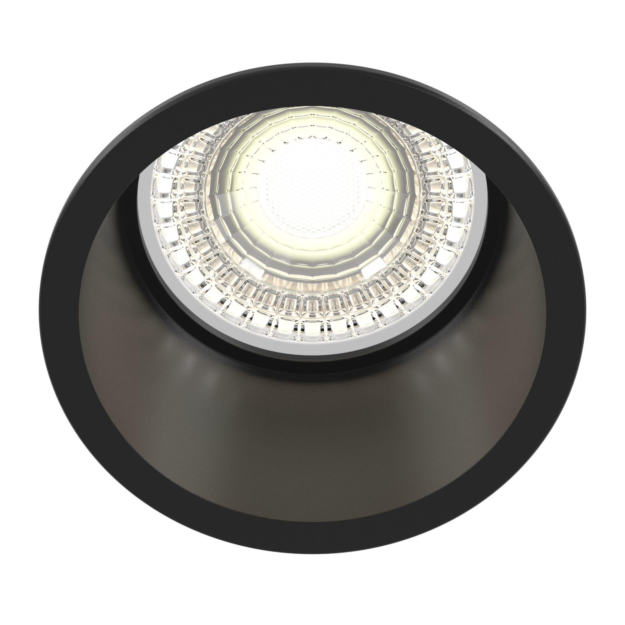 Светильник Maytoni Reif DL049-01B, 1xGU10x50W, черный, металл - фото 1