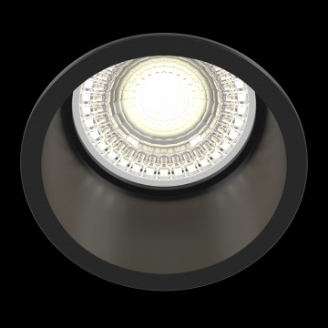 Светильник Maytoni Reif DL049-01B, 1xGU10x50W, черный, металл - миниатюра 3