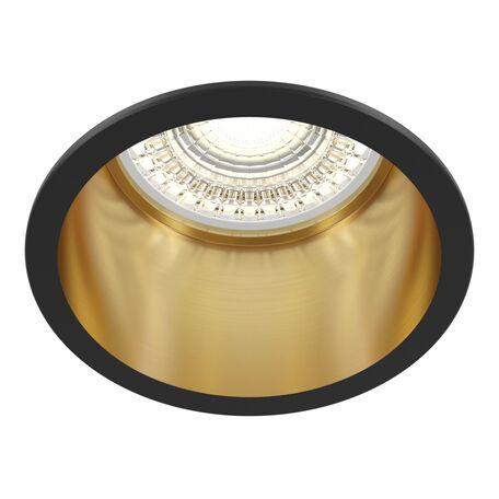 Светильник Maytoni Reif DL049-01GB, 1xGU10x50W, золото с черным, металл