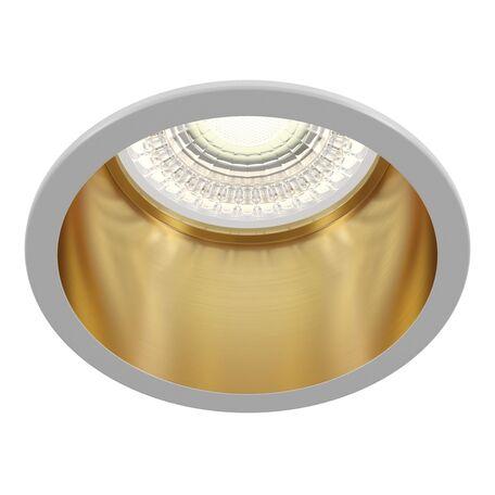 Светильник Maytoni Reif DL049-01WG, 1xGU10x50W, золото с белым, металл
