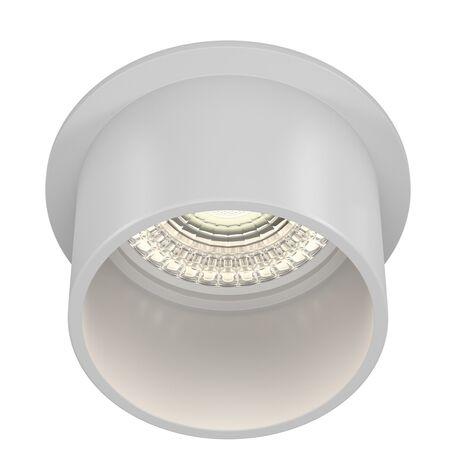 Светильник Maytoni Reif DL050-01W, 1xGU10x50W, белый, металл