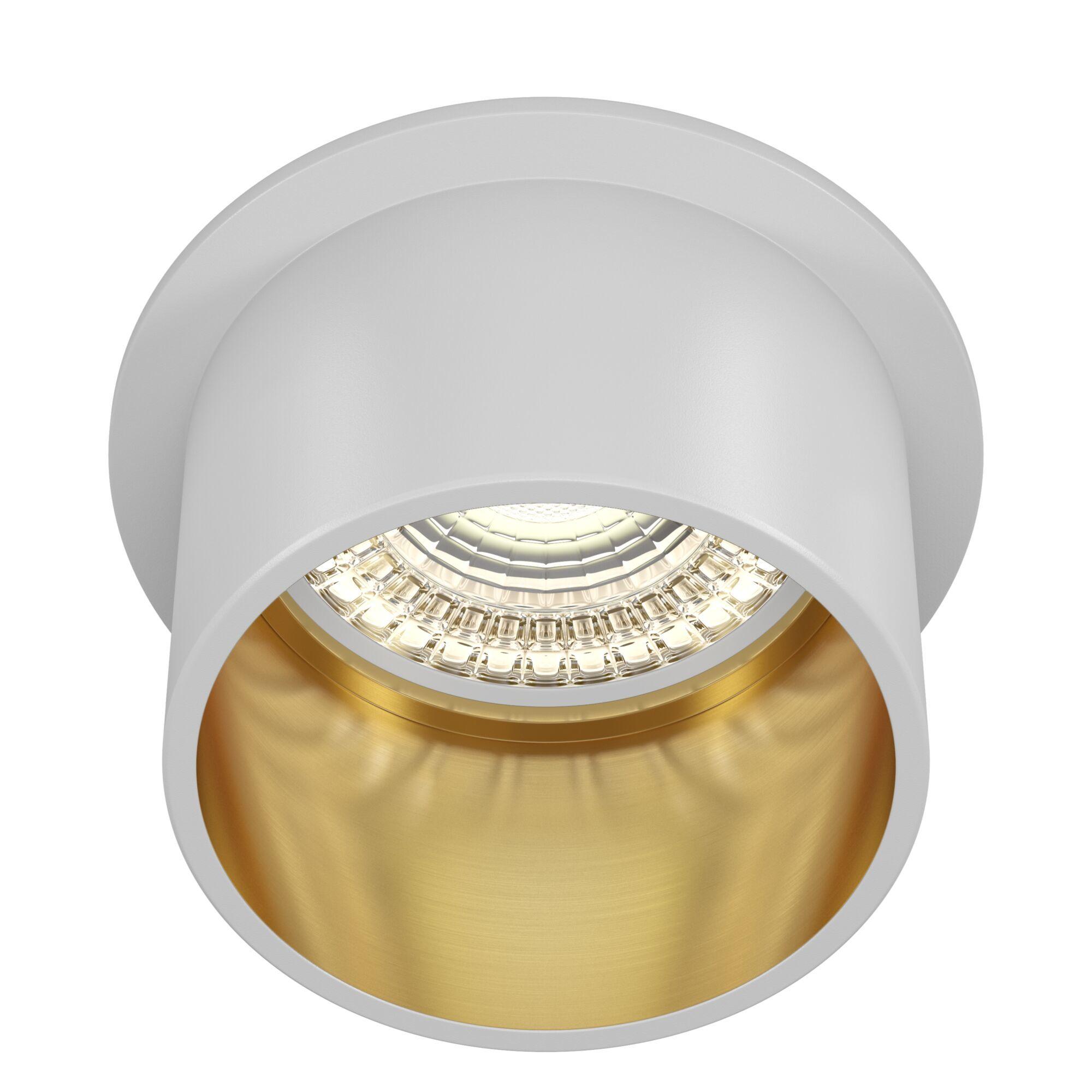Светильник Maytoni Reif DL050-01WG, 1xGU10x50W, белый с золотом, золото с белым, металл - фото 1