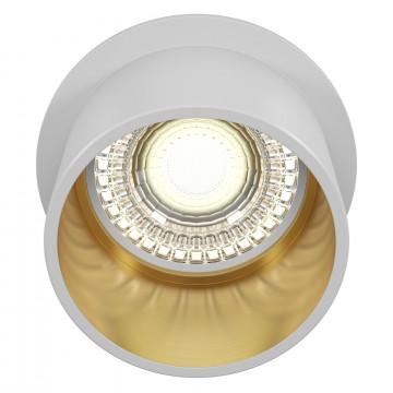 Светильник Maytoni Reif DL050-01WG, 1xGU10x50W, белый с золотом, золото с белым, металл - миниатюра 2