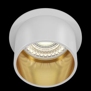 Светильник Maytoni Reif DL050-01WG, 1xGU10x50W, белый с золотом, золото с белым, металл - миниатюра 4