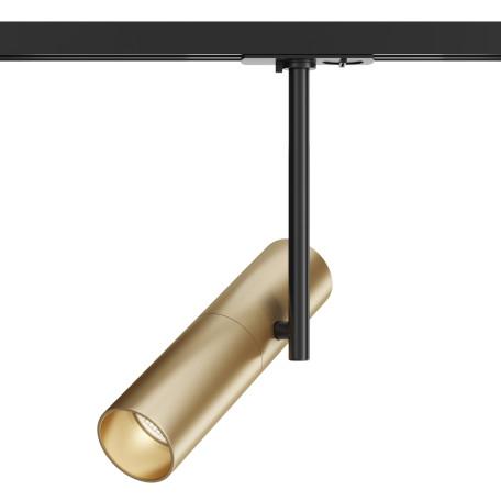 Светильник Maytoni Elti TR005-1-GU10-BG, 1xGU10x50W, черный, золото, металл - миниатюра 1