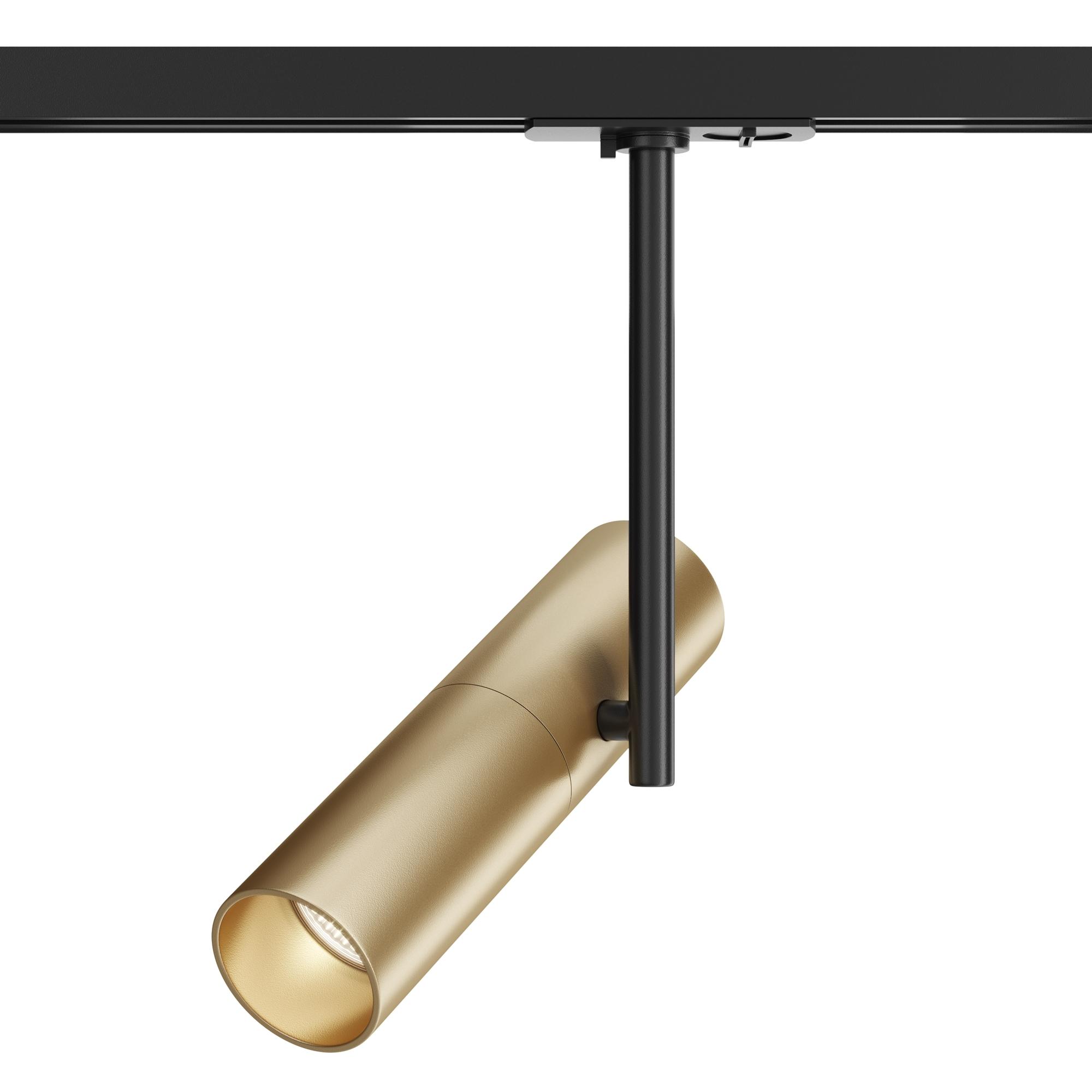 Светильник Maytoni Elti TR005-1-GU10-BG, 1xGU10x50W, черный, золото, металл - фото 1